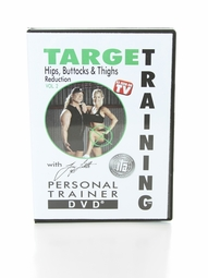 Target Training™ DVD - Hips, Buttocks & Thigh Reduction