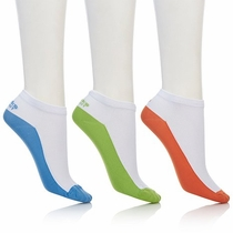Tony Little Cheeks® (3) Pack Barefoot Ultra Light Low Cut Socks - FREE SHIPPING