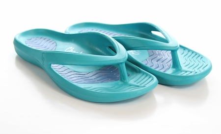 Tony Little's Cheeks® Health Sandals with Full Gel Bed