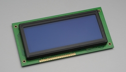192x64 Graphic LCD Display Module (Yellow & Green)