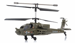 2.4Ghz 3 Channel UDI U10 Gunship Apache  Helicopter RC Remote Control Radio