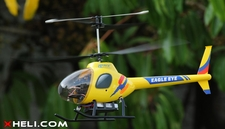 2.4Ghz Art-Tech Eagel Eye 4 CH Remote Control Electric RC Co-Axial  Helicopter RTF AT-11022-EagleEye-Yellow-RTF-24G
