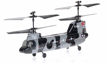 2.4Ghz Esky Tandem Rotor 4CH  Chinook Helicopter Camo RC Remote Control Radio