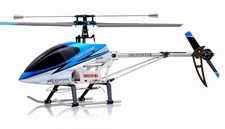 "26"" Double Horse 9104 Helicopter 3 channel Single Rotor  Helicopter RTF Ready to Fly w/ Gyro (Blue) RC Remote Control Radio"