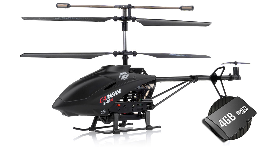 Remote Control Helicopter With Video Camera 3-Channel Helicopter U...