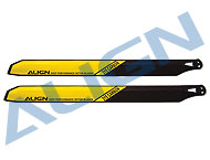 315 Carbon Rotor Blade/Yellow HD313A