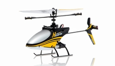 4CH Mini  Helicopter 9958 hot selling 2.4GHz Single-Propeller with Gyro  (Yellow) RC Remote Control Radio