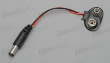 9V Battery Power Lead for Auduino