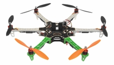 AeroSky 550  6 Channel Hexacopter Ready to Fly 2.4 G (Green) RC Remote Control Radio