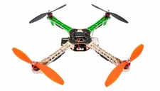 AeroSky  Quadcopter Drone 4 Channel ARF w/ LED, Motor, ESC, MWC Flight Control Board (Green) RC Remote Control Radio