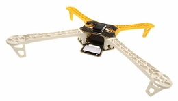 AeroSky  Quadcopter 4 Channel Kit Frame (Yellow) RC Remote Control Radio Quad