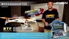 Align M424 RC Quadcopter Drone Combo RM42402X