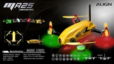 ALIGN MR25 Racing Quad Combo - Yellow RM42501XE