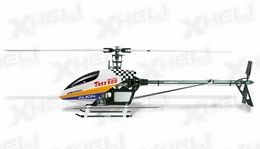 Align RC 6 Channel Helicopter 600 Nitro Pro Kit KX0160NPA(WHITE CANOPY) KIT