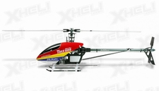 Align RC 6 Channel Helicopter 600 Nitro Pro Kit KX0160NPD(RED CANOPY) KIT