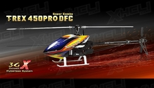 Align RC 6 Channel Helicopter T-REX 450PRO DFC Super Combo KX015087 ARF