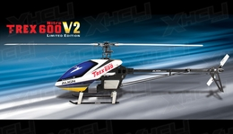 Align RC 6 Channel Helicopter T-REX 600 Nitro V2 Limited Edition KX0160NPLB KIT