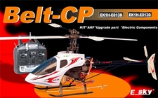 ARF E-Sky Belt CP Collective Pitch 6-Channel Radio Remote Controlled Helicopter - White - Airframe Only (EK1H-E013D)