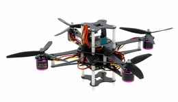 CR4-230 QuadCopter Drone w/ KK Board Brushless Motor, 12A ESC ARF (Black) RC Remote Control Radio