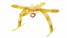 CR4-400 QuadCopter Fiber Glass KIT w/ Camera Mount (Yellow) RC Remote Control Radio
