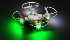 CX Model Nano 2.4ghz 5CH 6 Axis Gyro LED Quadcopter Ready to Fly (White) RC Remote Control Radio