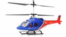 Dynam 4 Channel Jet Ranger 370 RTF 2.4Ghz   Helicopter RC Remote Control Radio