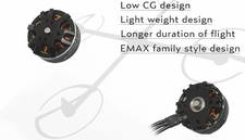 EMAX MT2808 850KV Brushless Motor for Multirotors (Plus Thread) 66P-133-MT-2808-850KV-Plus-thread
