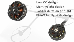 EMAX MT3506 650kv Brushless Motor for Multirotors (CCW Thread) 66P-132-MT-3506-CCW-thread