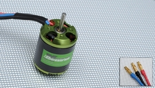 Exceed RC Helium 450 Brushless Motor 2220-3700kv for Trex 450 or compatible RC Helicopters 86MA78-2220-3700KV