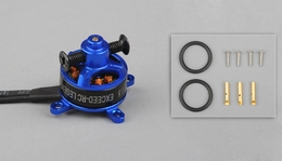 Exceed RC Legend Motor 1304-3400KV for Light Weight Planes & Small Quads 86MC202-1304-3400Kv