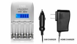 Fast Charger for AA & AAA