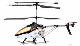 Fire Eyes 3.5 Channel  Aerial Camera helicopter RTF with external camera + Gyro + LED Transmitter (Black) RC Remote Control Radio