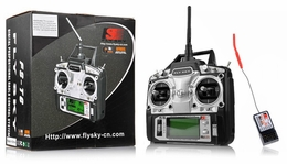 FlySky FS-T6 2.4ghz Digital Proportional 6 Channel Transmitter and Receiver System