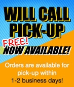 Free Will Call Pick Up Service