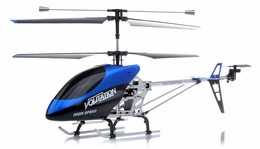 "Hero RC  26"" H853 Newest 3 Channel Outdoor Volitation Metal  Helicopter w/ Built in Gyro (Blue) RC Remote Control Radio"