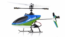 Hero RC  4CH  Helicopter H995 (XIEDA 9958) 2.4GHz Single Propeller Blade Fixed Pitch with Gyro  (Green) RC Remote Control Radio