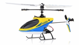 Hero RC  4CH  Helicopter H995 (XIEDA 9958) 2.4GHz Single Propeller Blade Fixed Pitch with Gyro  (Yellow) RC Remote Control Radio