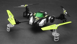 Hero RC  H1 X1 Syma Quadcopter Drone Viking Space Ship 2.4Ghz 4 Channel (Lime) w/ Extra Spare Battery and Extra Set of Blades RC Remote Control Radio