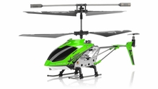Hero RC  H288 Gyro Star   3 channel Metal Micro Helicopter Genuine and Manufactured by Syma S107/S107G OEM w/ bonus blades, balance bar, connect buckle, tail blade & tail decoration (Green) RC Remote Control Radio