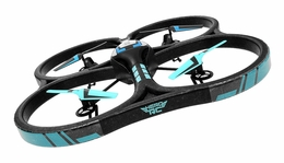 Hero RC  XQ-5 V626 UFO Drone with Camera 4 Channel 6 Axis Gyro Quadcopter Headless Mode 2.4ghz Ready to Fly w/ Extra Battery RC Remote Control Radio UAV