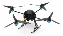 Lotus  T80  Quad-Copter Drone 4 Channel Almost Ready to Fly RC Remote Control Radio
