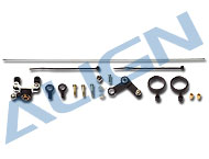 Metal Tail Pitch Assembly without tail rotor holder(METAL)HS1200