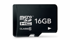 Micro Secure Digital 16 GB Memory Card MicroSDHC Class 10