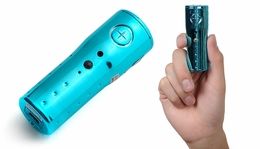 Micro Spy Camera Video Camcorder w/ Panic Alarm 30FPS (Blue) 86P-986-PanicAlarm-Blue