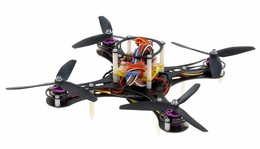 Mini Fly QuadCopter Drone ARF w/ MWC Board Brushless Motor, 12A ESC (Black) RC Remote Control Radio