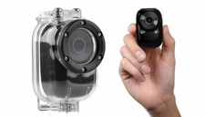 Mini Sport Car Spy Video Camera WiFi HD Video Recorder (Black)