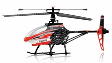 MJX F645 2.4ghz 4 Channel Fixed Pitch Ready to Fly Helicopter (Red) RC Remote Control Radio