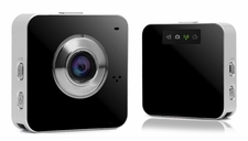 Portable Multifunction WIFI/DVR/APP Controllable 5.0MP Camera (Black)
