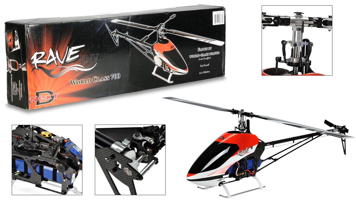 6-Channel 3D Helicopters