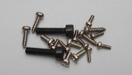 Screws M2x8,M1x3,M1.4x3,ST1.2x5PA 28P-V922-21